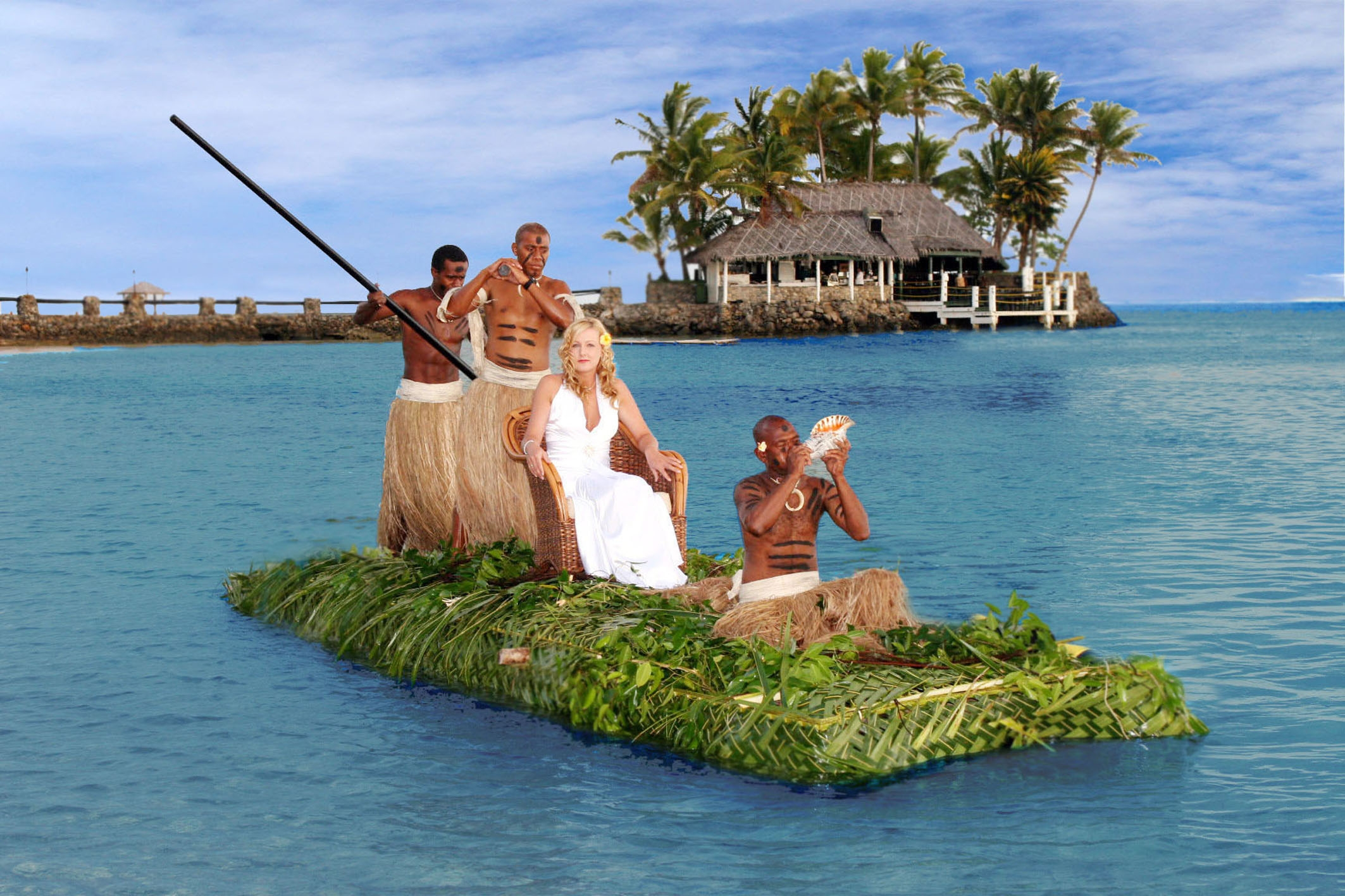 get married at the warwick fiji resort spa