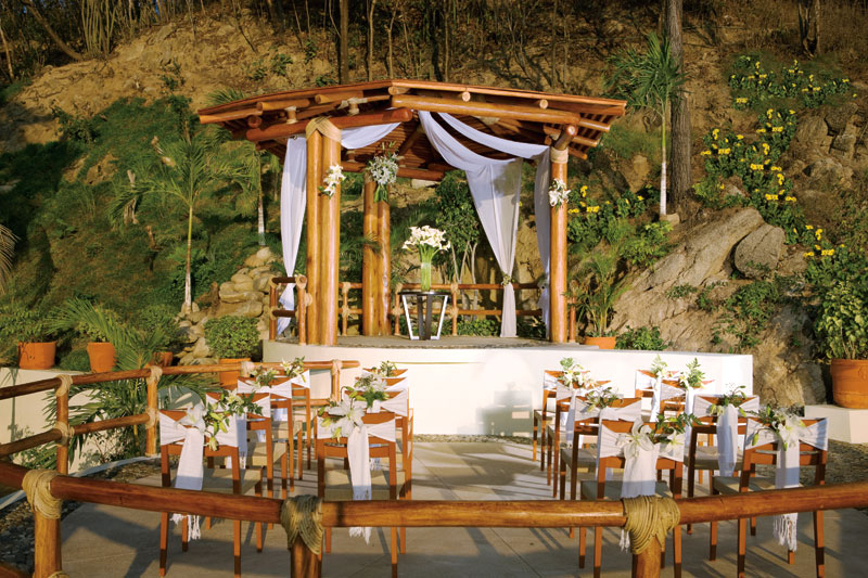 Dreams Huatulco wedding